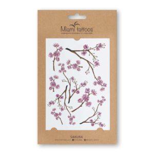 Акварельные переводные тату Sakura