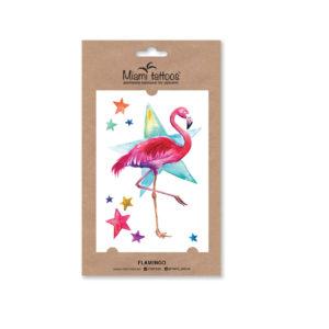 мокап фламинго